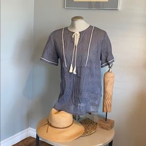 BOGO 50% off! Pattered cotton tunic